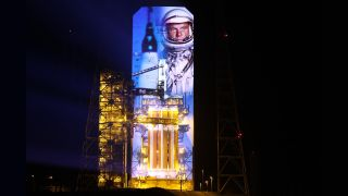 Six Christie RGB pure laser projectors helped to mark the impending launch of United Launch Alliance's Delta IV Heavy rocket at Cape Canaveral.