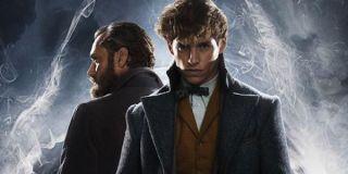 New Scamander Albus Dumbledore back to back