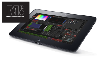 Martin Updates Software for M-Series Lighting Consoles