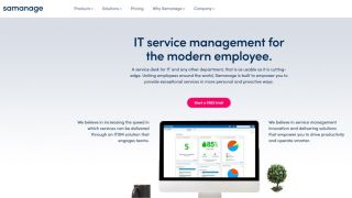 Samanage - Software to address the lifecycle of IT problems