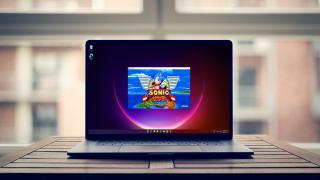 Windows 11 exécutant Sonic Mania sur un PC