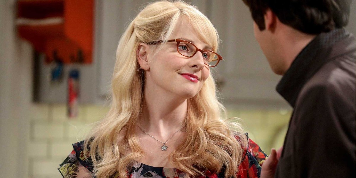 Melissa Rauch as Bernadette Rostenkowski-Wolowitz on The Big Bang Theory.