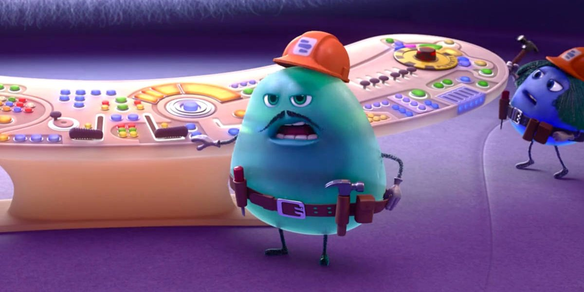 John Ratzenberger as Fritz in Inside Out