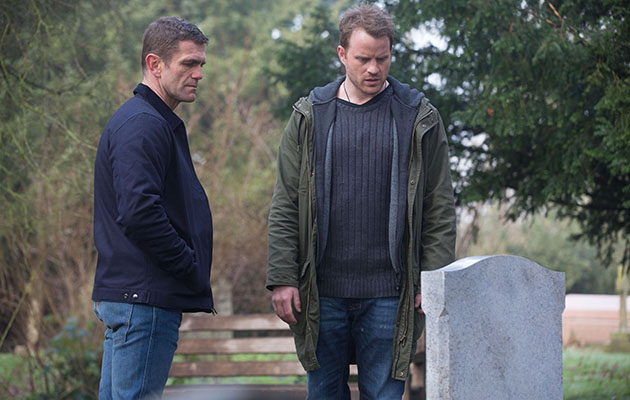 EastEnders Jack Branning and Sean Slater