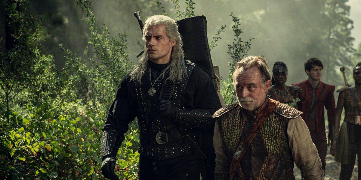 the witcher season 1 netflix geralt dwarves dragon hunt