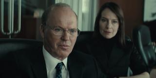 Michael Keaton and Amy Ryan in Worth