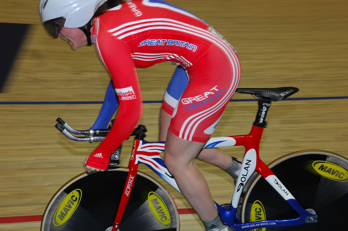 Anna Blyth women's sprint qualifier