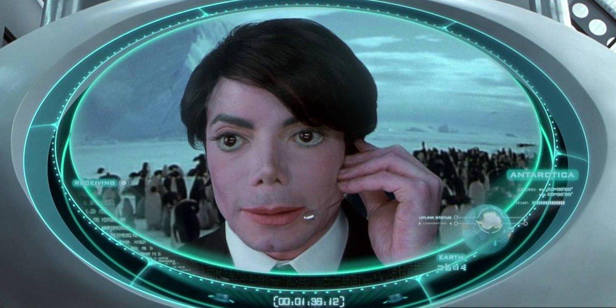 Michael Jackson in Men In Black II