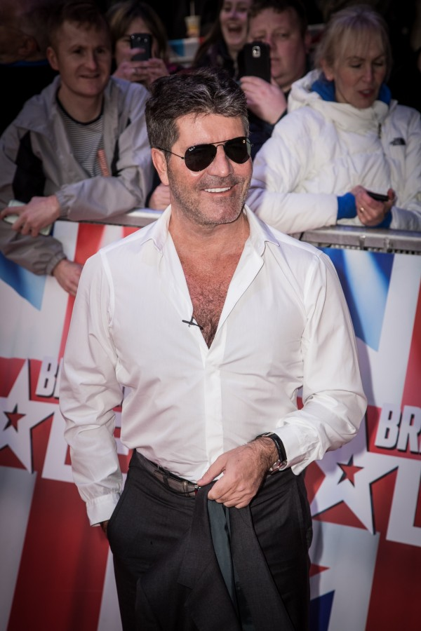 Simon Cowell at Britain's Got Talent 2016 auditions