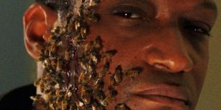 Tony Todd with bees on his face in Candyman