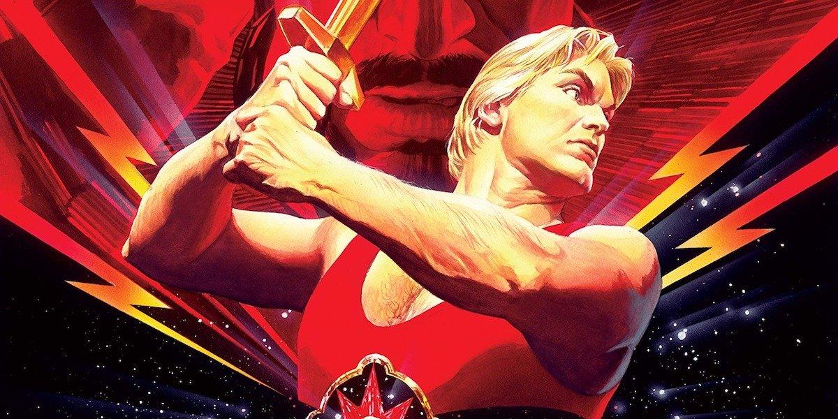 Flash Gordon movie artwork