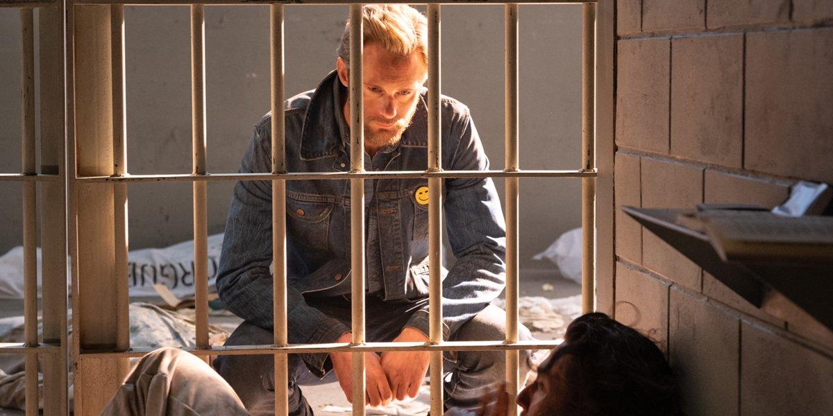 Alexander Skarsgard as Randall Flagg in The Stand