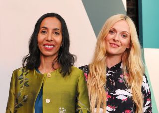 Michelle Ogundehin and Fearne Cotton onInterior Design Masters