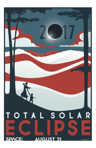 Eclipse solar poster