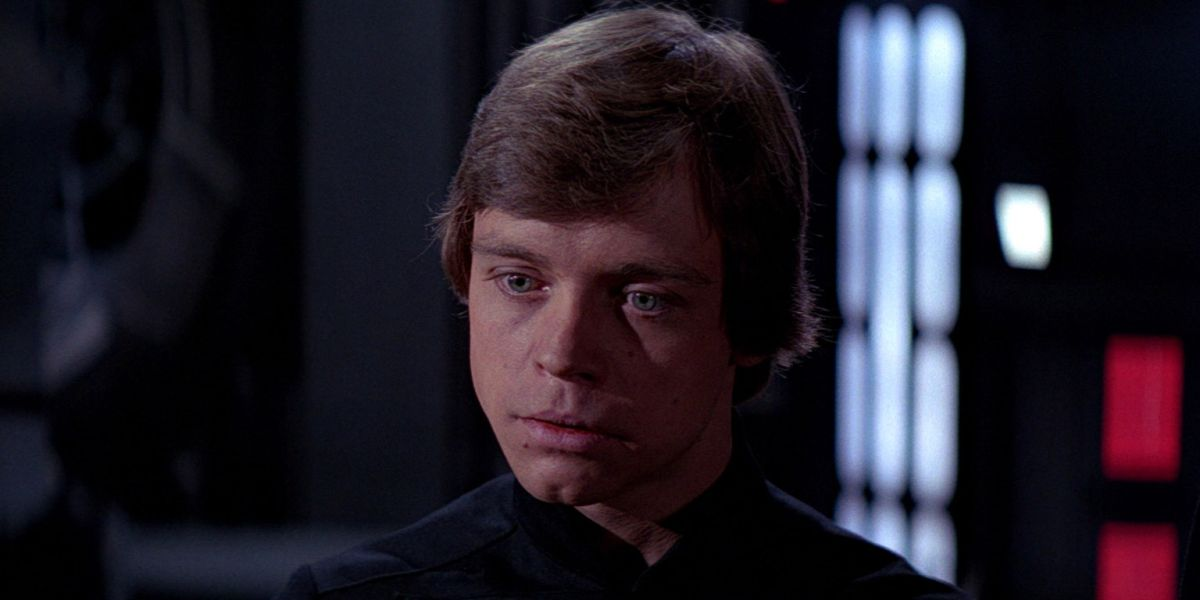 Luke Skywalker in Return of the Jedi