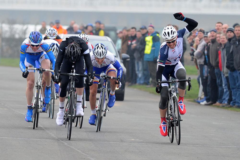 James Stewart wins, Eddie Soens Memorial 2011