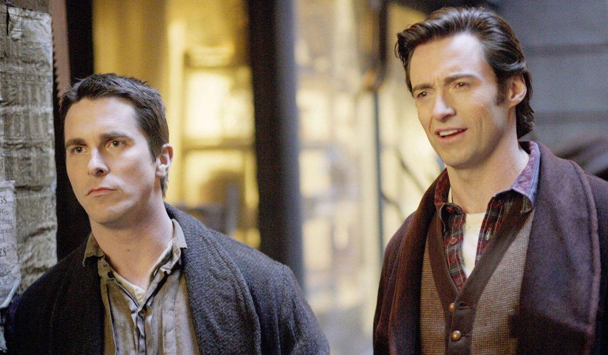 The Prestige Christian Bale Hugh Jackman
