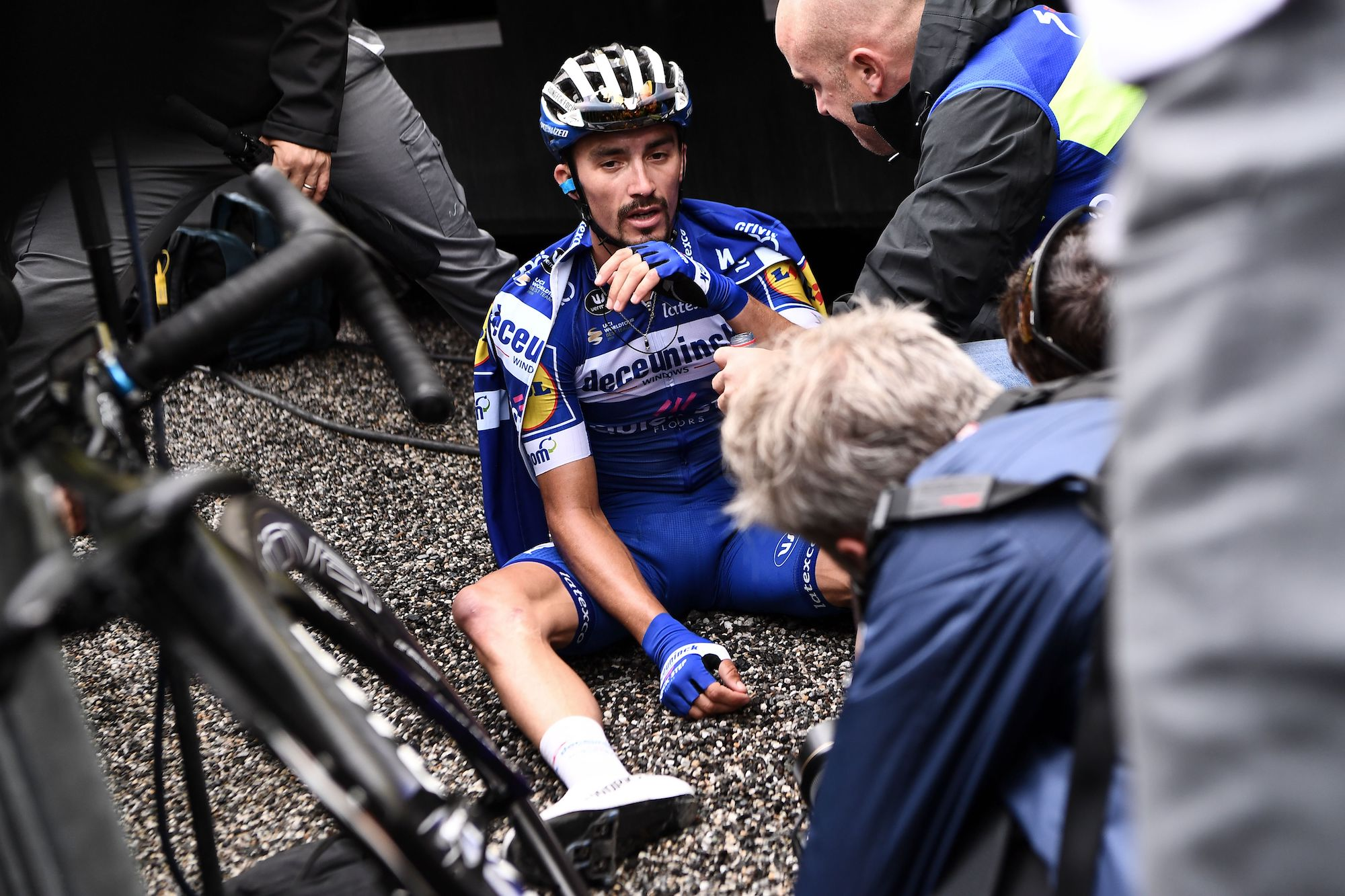 'Exhausted, happy, proud': Julian Alaphilippe says he gave everything in remarkable Tour de France