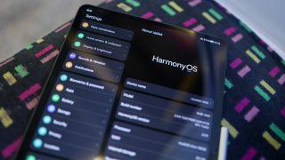 HarmonyOS on the Huawei MatePad Pro 12.6