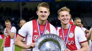 Matthijs De Ligt Ajax Barcelona Frenkie De Jong