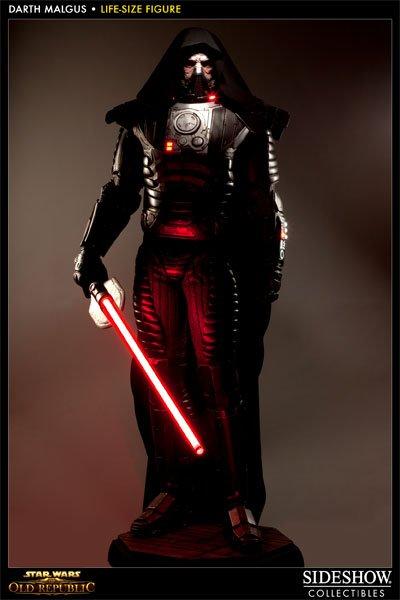 Prove Your Star Wars: The Old Republic Fandom With Life-Size Darth Malgus Statue #21374