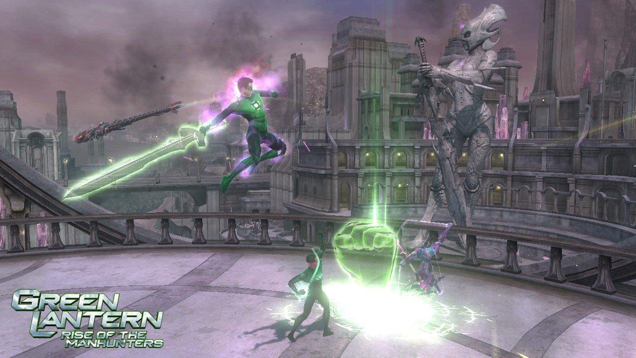 Green Lantern: Rise Of The Manhunters Construct Screenshots #17834