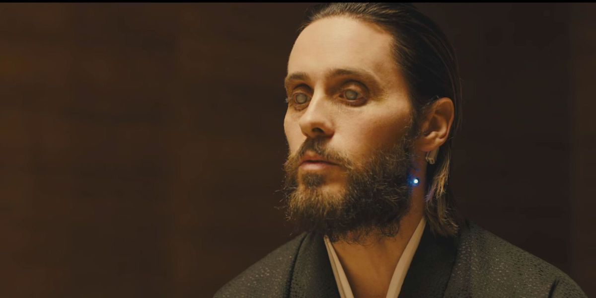 Jared Leto as Niander Wallace in Blade Runner 2049.