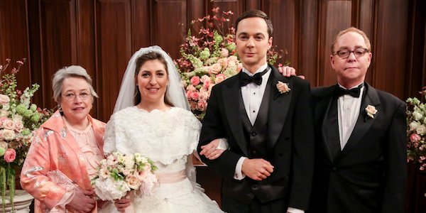 big bang theory wedding day