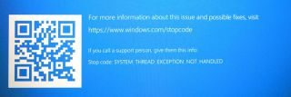 SYSTEM_THREAD_EXCEPTION_NOT_HANDLED Error