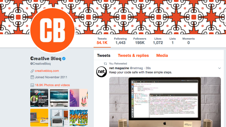 How to change the font in your Twitter bio | Creative Bloq