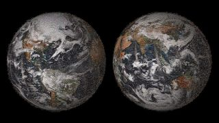NASA's global selfie mosaic