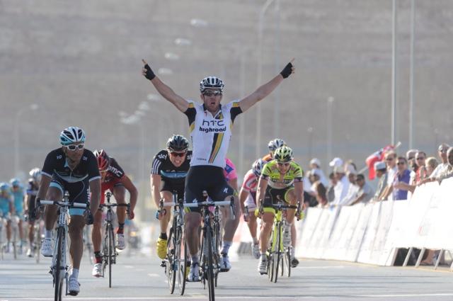 Matt Goss wins Tour of Oman 2011, stage two