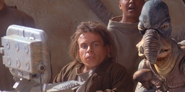 Warwick Davis Star Wars The Phantom Menace