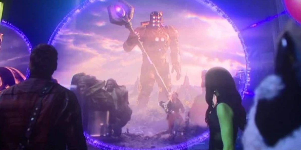 Celestials in Guardians of the Galaxy