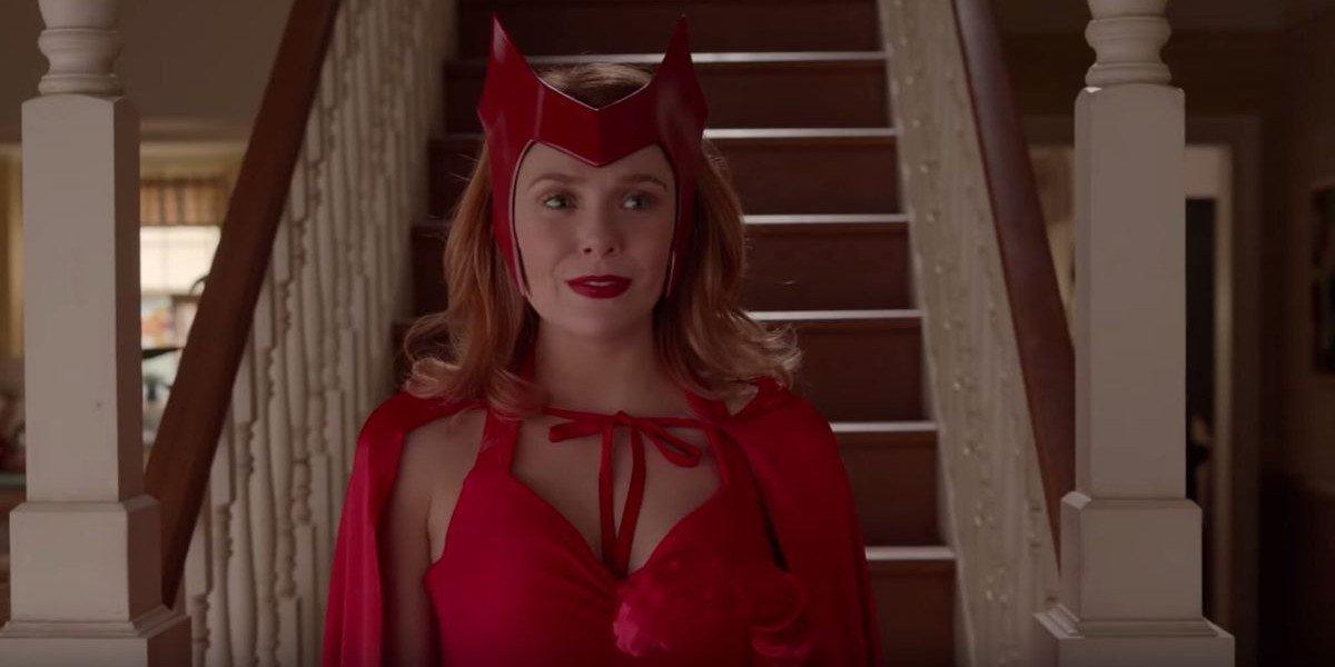 Elizabeth Olsen as Wanda Maximoff/Scarlet Witch on WandaVision (2020)