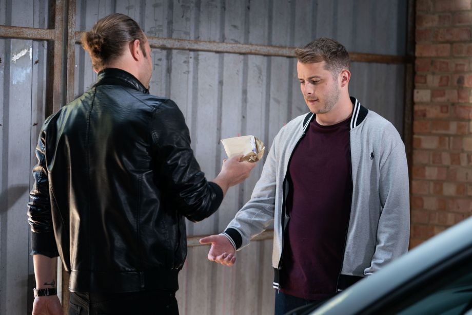 EastEnders Ben Mitchell meets with Jason in Eastenders