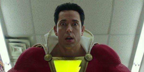 Shazam in the trailer