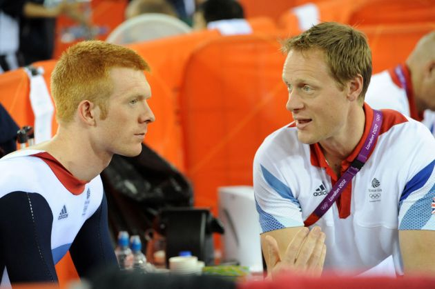 Clancy and Hunt, London 2012 Olympic Games, track day four