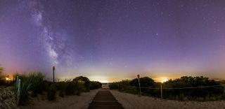 Milky Way from Cape May by Bakley