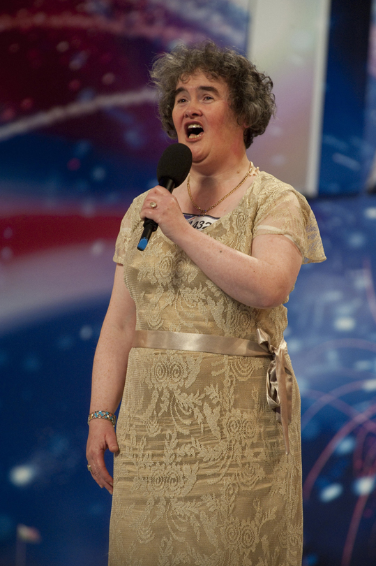 Susan Boyle to break US market before album