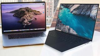 Dell XPS 15 (2020) vs. MacBook Pro 16-inch