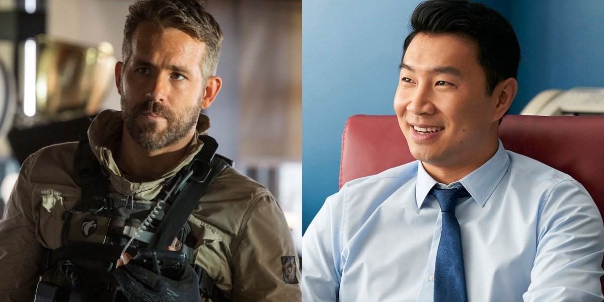 Ryan Reynolds Gets Ripped On By Shang-Chi's Simu Liu In Marvel Fantasy Football Diss Track