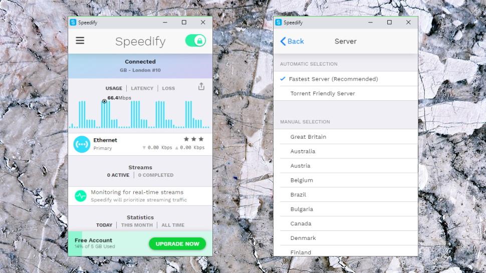 Speedify Windows App