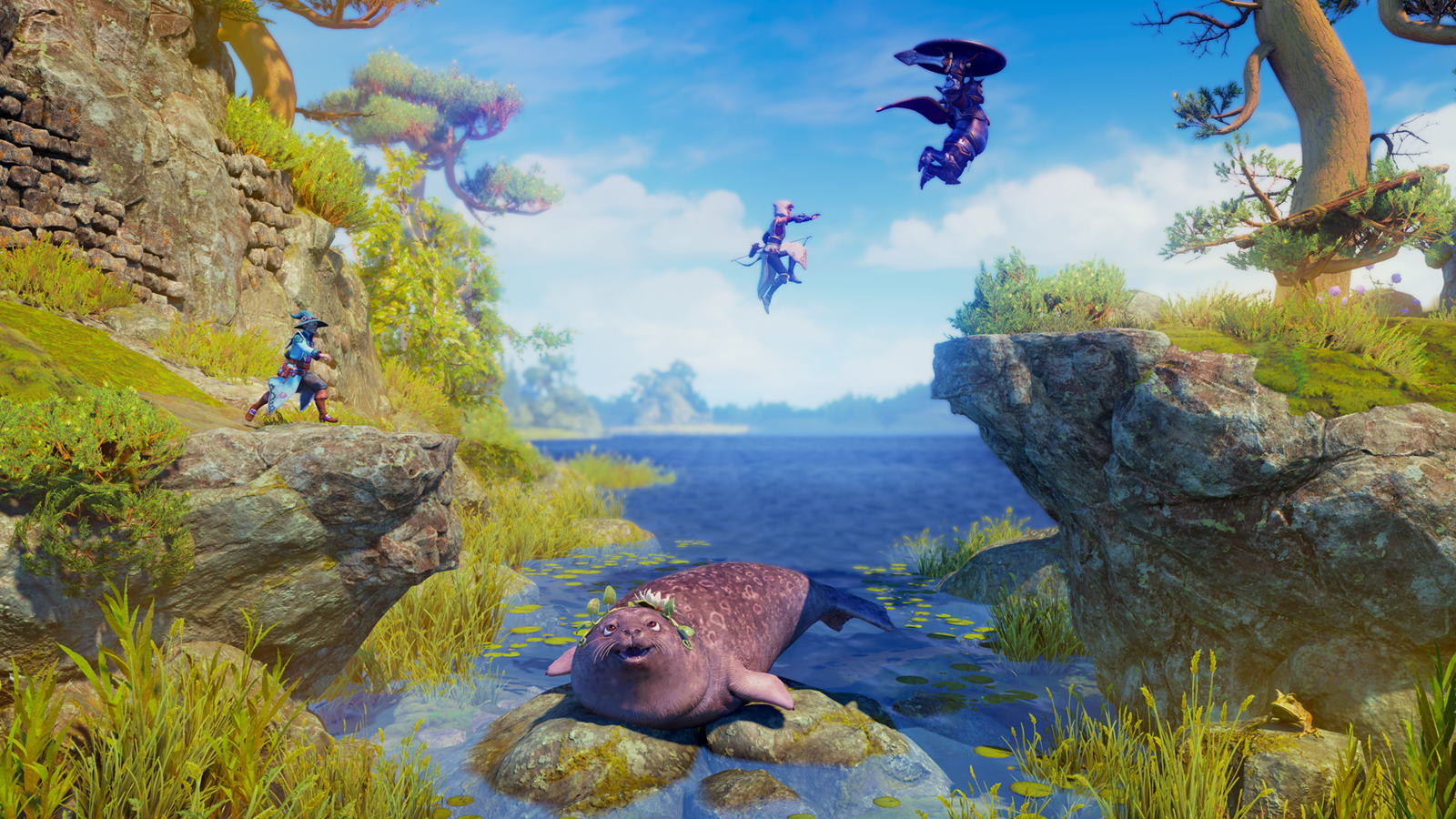 Trine 4 shows off 7 minutes of watery puzzles and mammals | PC Gamer