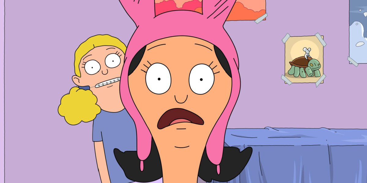 Louise and Millie in Bob's Burgers.