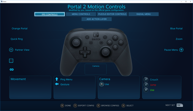 Steam gets official support for the Nintendo Switch Pro controller