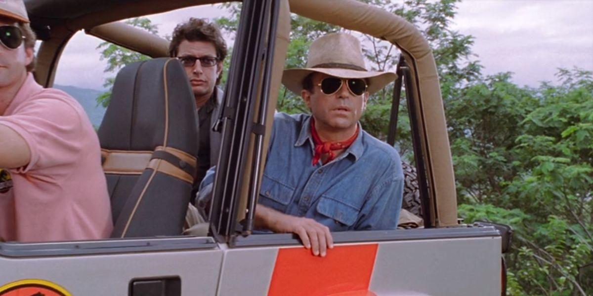 Sam Neill in Jurassic Park