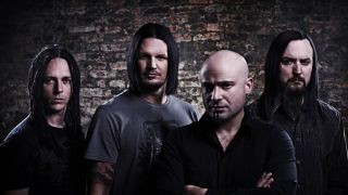 Promo shot of Disturbed