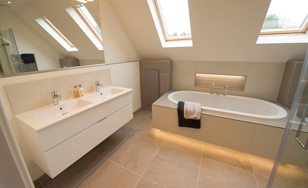How to choose bathroom lighting real homes mozeypictures Choice Image