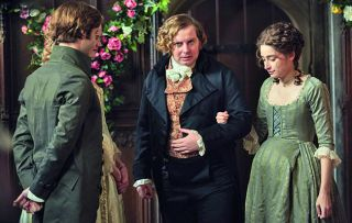 Tonight's episode of Poldark begins with Ross and Demelza all loved up and talking about how content they are.